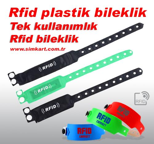 Rfid plastik bileklik